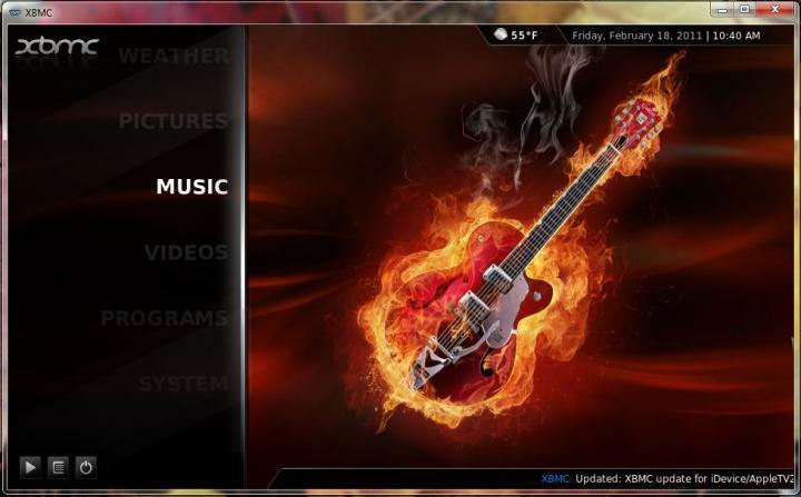 Music Item Selected