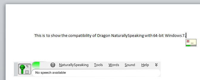 Dragon NaturallySpeaking: High Quality for a Hundred Bucks