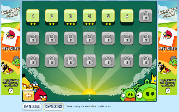 Angry Birds - Levels, World 2