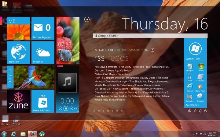 Windows 8. The Metro Interface