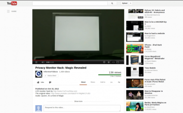 YouTube New Interface