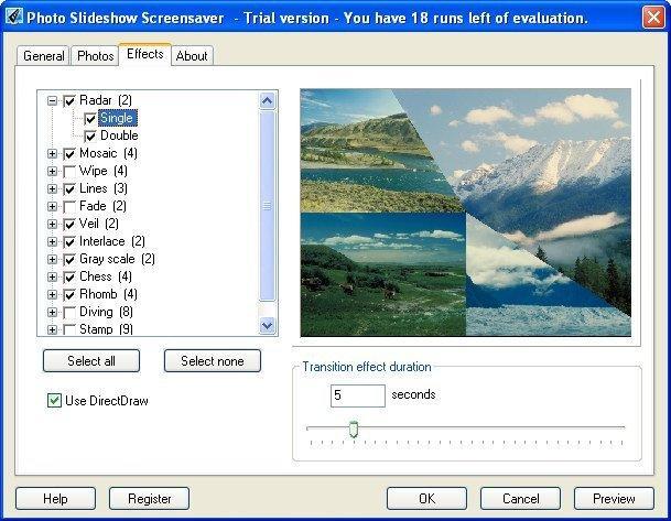 Photo Slideshow Screensaver