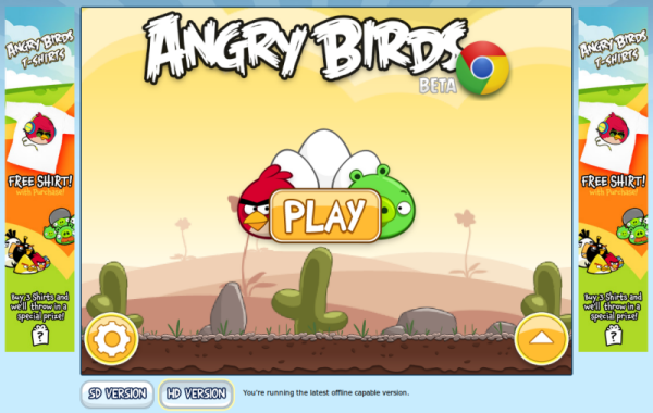 Angry Birds - Welcome Screen
