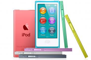 The New iPod Nano Comes in Seven Colors