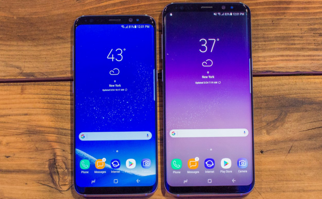 Galaxy S8 and S8 Plus