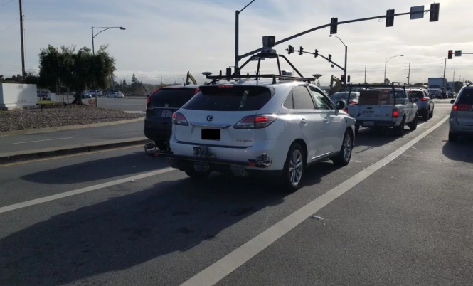 Apple's self-driving car