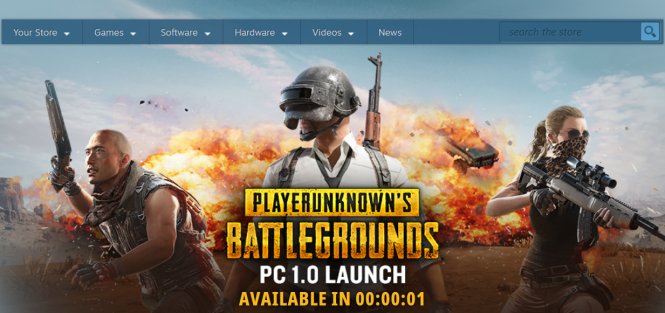 Countdown timer to PUBG official launch