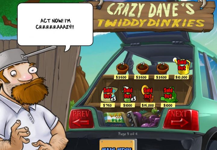 Crazy Dave's Shop