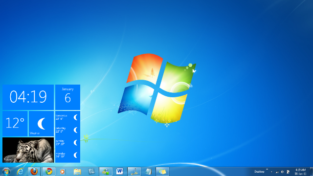 Windows 8. The Traditional Interface
