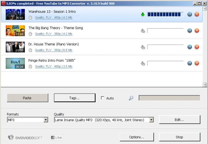 Free YouTube to Mp3 Converter in Action