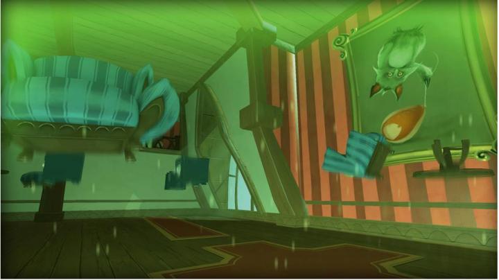 Quantum Conindrum's  gameplay. Antigravity dimension's look.