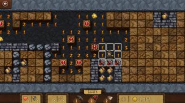 Windows 8 Minesweeper: The Adventure Mode