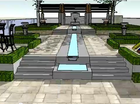 A garden design example