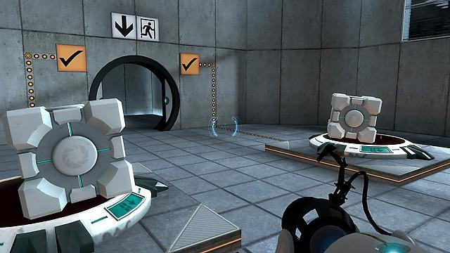 Portal's gameplay